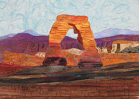 "Click to see larger image of ""Delicate Arch""."